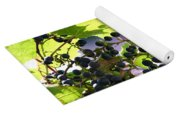 Grapes And Leaves Yoga Mat