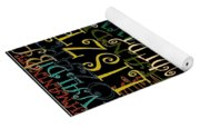 Graphic Composers Yoga Mat