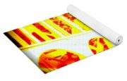 Haceta Head Bridge In Abstract Yoga Mat