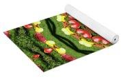 Heart Kaleidoscope Yoga Mat