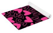 Hearts Yoga Mat