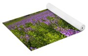 Hedge Woundwort Flower Blossoms And Field Yoga Mat