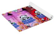 Hello Panda Biscuits Yoga Mat