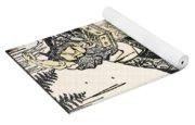 Hokusai: Setsubun, 1816 Yoga Mat