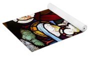 Holy Family Stained Glass Yoga Mat