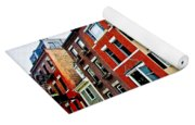 Houses In Boston Yoga Mat