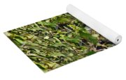 Iguana Hiding In The Bushes Yoga Mat