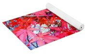 Japanese Maple Leaves 11 In The Fall Yoga Mat