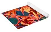 Japanese Maple Leaves 6 In The Fall Yoga Mat