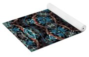 Jeweled Turquoise Yoga Mat