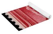 John Greenleaf Whittier Postage Stamp Yoga Mat