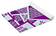 K And B Playing Cards New Orleans Yoga Mat