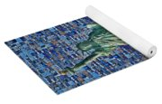 Lady Liberty Mosaic Yoga Mat
