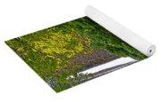 Latourell Falls Oregon - Posterized Yoga Mat