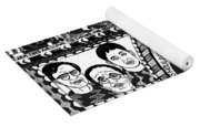 Le Car In Black And White Yoga Mat