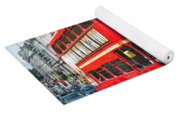 London Red Bus Yoga Mat