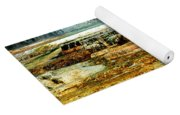 Mammoth Terrace - Yellowstone Yoga Mat