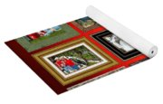 Mclanegoetz Studio Christmas Card Yoga Mat