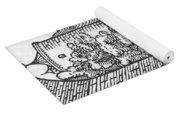 Medieval Arithmetic Yoga Mat