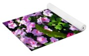 Mixed Impatiens In Dappled Shade Yoga Mat