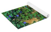 Morning Glory Garden In Provence Yoga Mat