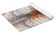 Mosaic Of Chest X-ray Yoga Mat