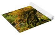 Moss In The Forest Yoga Mat