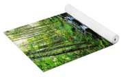 Mossy Rocks And Water   Yoga Mat