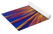 Moving Abstract Lights Yoga Mat