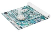 Navigli City Of Milan In Italy Portrait Yoga Mat