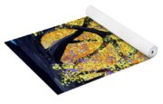 October Fall Foliage Yoga Mat