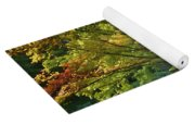 Painted Gardens Yoga Mat