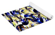 Party Time Abstract Yoga Mat