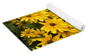 Please Don't Eat The Daisies Yoga Mat