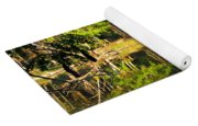 Pond Reflection Guatemala Yoga Mat