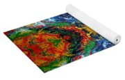Primary Abstract I Design Yoga Mat