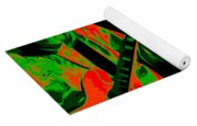 A Psychedelic Rush Yoga Mat