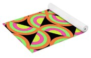 Psychedelic Squares Yoga Mat