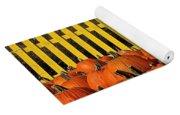 Pumpkin Corral Yoga Mat