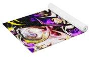 Purple Iris Yoga Mat