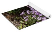 Purple Phlox  Yoga Mat