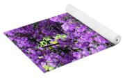 Purple Screen Square Yoga Mat