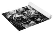 Quilting Party, 1864 Yoga Mat