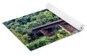 Railroad Bridge At East Falls Philadelphia Yoga Mat
