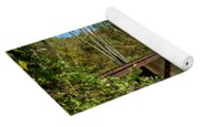 Rails To The Past Yoga Mat