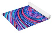 Rainbow Spotted Horse Yoga Mat