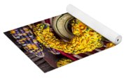 Red Pear And Gourds Yoga Mat