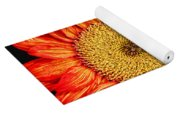 Red Sunflower II  Yoga Mat