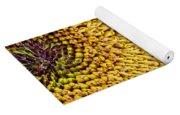 Red Sunflower Viiii Yoga Mat