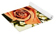 Reflection Of A Warm Rose Yoga Mat